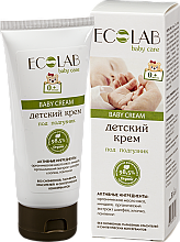 """Parfémy, Parfumerie, kosmetika Dětský krém """"Pod plenky"""" - ECO Laboratorie Baby Cream"""