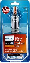 Parfémy, Parfumerie, kosmetika Zastřihovač chloupků v nose a uších - Philips NT1150/10