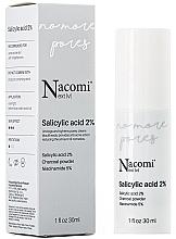Parfémy, Parfumerie, kosmetika Pleťové sérum s 2% kyselinou salicylovou - Nacomi Next Level Salicylic Acid 2%