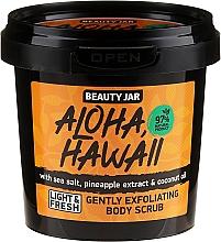 Parfémy, Parfumerie, kosmetika Peeling na tělo - Beauty Jar Aloha Hawaii Gently Exfoliating Body Scrub