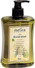 Parfémy, Parfumerie, kosmetika Tekuté mýdlo s extraktem z olivy - Melica Organic Olive Liquid Soap