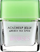 Parfémy, Parfumerie, kosmetika Denní krém-gel s olejem z čajového stromu - Nature of Agiva Roses Acnehelp Jelly Daily Cream