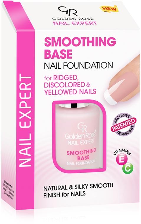 Vyrovnávací báze pro nehty - Golden Rose Nail Expert Smoothing Base Nail Foundation — foto N1