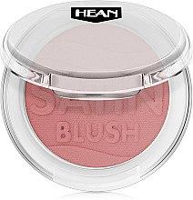 Parfémy, Parfumerie, kosmetika Tvářenka - Hean Satin Blush