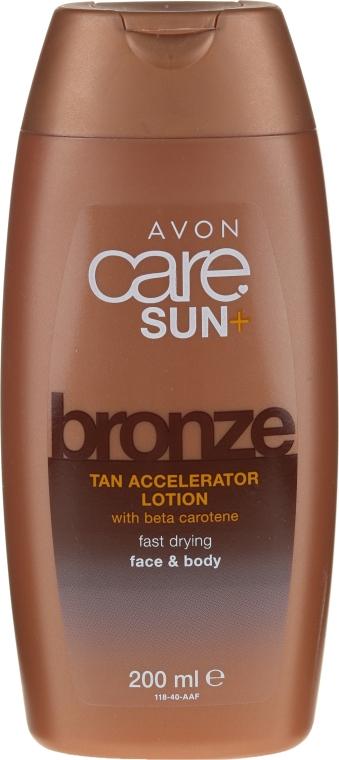 Tělový balzám s beta-karotenem - Avon Sun+ Bronze Tan Accelerator — foto N1