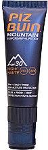 Parfémy, Parfumerie, kosmetika Ochranná krémová rtěnka - Piz Buin Mountain Suncream + Lipstick SPF30