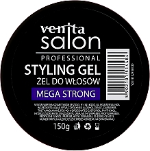 Parfémy, Parfumerie, kosmetika Gel na vlasy - Venita Salon Professional Styling Mega Strong