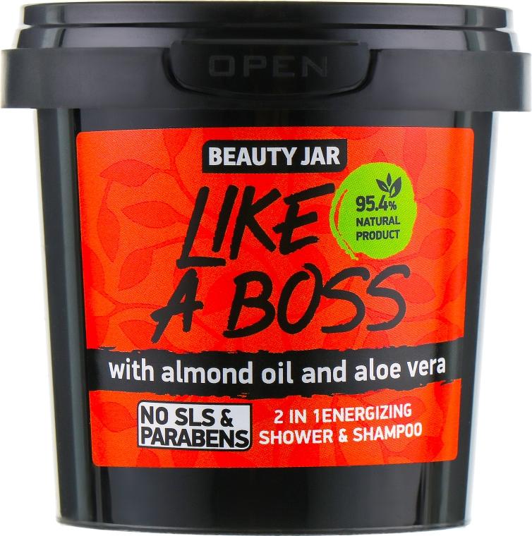 "Sprchový gel a šampon v jednom ""Like A Boss"" - Beauty Jar 2 in 1 Energizing Shower & Shampoo"