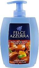 Parfémy, Parfumerie, kosmetika Tekuté mýdlo - Felce Azzurra Nutriente Amber & Argan