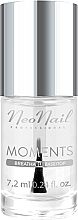 Parfémy, Parfumerie, kosmetika Báze a vrchní lak 2v1 - NeoNail Professional Moments Base/Top 2in1