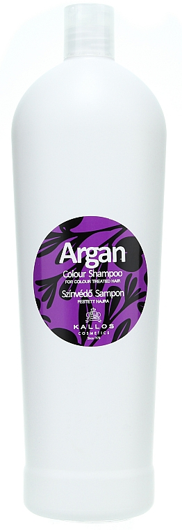 "Šampon pro barvené vlasy ""Argan"" - Kallos Cosmetics Argan Colour Shampoo"