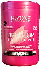 Parfémy, Parfumerie, kosmetika Bělicí prášek na vlasy - H.Zone Decolor Extreme