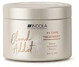 Parfémy, Parfumerie, kosmetika Vlasová maska - Indola Blond Addict Treatment