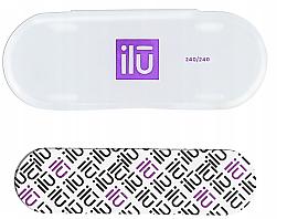 Parfémy, Parfumerie, kosmetika Pilník na nehty v pouzdře - Ilu Nail File With Case Mini 240/240