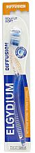 Parfémy, Parfumerie, kosmetika Zubní kartáček Diffusion, měkký, modrý - Elgydium Diffusion Soft Toothbrush