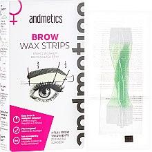 Parfémy, Parfumerie, kosmetika Vosk na obočí - Andmetics Women's Brow Wax Strips