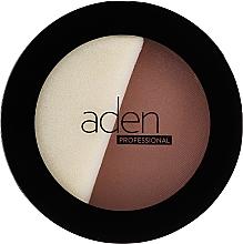 Parfémy, Parfumerie, kosmetika Kompaktní pudr - Aden Cosmetics Face Compact Powder