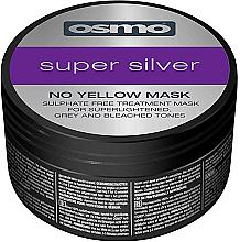 Parfémy, Parfumerie, kosmetika Super stříbrná maska pro neutralizaci žlutých tónů - Osmo Super Silver No Yellow Mask