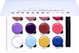 Parfémy, Parfumerie, kosmetika Paleta pro líčení rtů - Bellapierre 12 Color Pro Matte Lip Palette