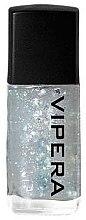 Parfémy, Parfumerie, kosmetika Vrchní lak na nehty s částečkami - Vipera Top Coat Metal Effect