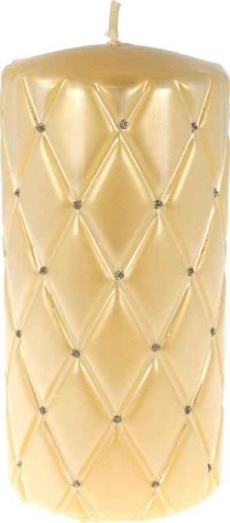 Dekorativní svíčka, 14 cm, krémová - Artman Florence Candle — foto N1