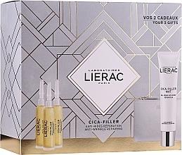 Parfémy, Parfumerie, kosmetika Sada - Lierac Cica-Filler (serum/30ml + cr/gel/40ml + bag)