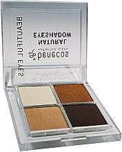 Parfémy, Parfumerie, kosmetika Čtyřbarevná paletka očních stínů Avon - Benecos Natural Quattro Eyeshadow