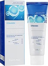 Parfémy, Parfumerie, kosmetika Hydratační pěna proti stárnutí s kolagenem - FarmStay Collagen Water Full Moist Deep Cleansing Foam