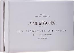 Parfémy, Parfumerie, kosmetika Sada - AromaWorks Signature Oil Range (oil/4x10ml)