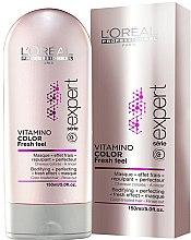 Maska s osvěžujícím účinkem pro ochranu a zachování barvy obarvených vlasů - L'Oreal Professionnel Vitamino Color A-OX — foto N4