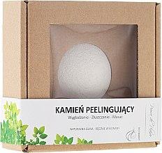 Parfémy, Parfumerie, kosmetika Přírodní kámen pro peeling obličeje, bílý - Pierre de Plaisir Natural Scrubbing Stone Face