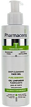 Parfémy, Parfumerie, kosmetika Antibakteriální gel na obličej - Pharmaceris T Puri-Sebopeel Gel