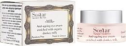 Parfémy, Parfumerie, kosmetika Oční krém proti stárnutí - Sostar Anti-Aging Eye Cream Enriched With Donkey Milk