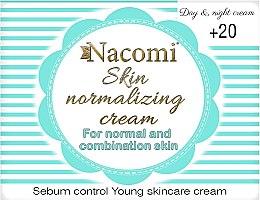 Parfémy, Parfumerie, kosmetika Denní krém na obličej - Nacomi Normalizing Cream 20+