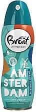 """Parfémy, Parfumerie, kosmetika Osvěžovač vzduchu """"City Break -Amsterdam"""" - Brait Dry Air"""