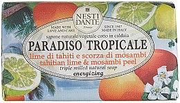 "Parfémy, Parfumerie, kosmetika Mýdlo ""Limetka a mangosteen"" - Nesti Dante Paradiso Tropicale Tahitian Lime & Mosambi Peel Soap"