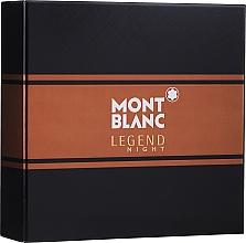 Parfémy, Parfumerie, kosmetika Montblanc Legend Night - Sada (edp/50ml + ash/balm/100ml)