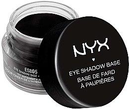 Parfémy, Parfumerie, kosmetika Černá báze pod oční stíny - NYX Professional Makeup Eyeshadow Base Black