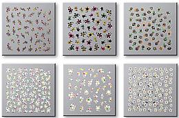 Parfémy, Parfumerie, kosmetika Nálepky na nehty, komplet 42737 - Top Choice Nail Decorations Stickers Set