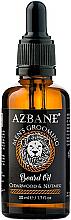 """Parfémy, Parfumerie, kosmetika Olej na vousy """"Kedr a muškátový oříšek"""" - Azbane Bean Oil With Cedarwood And Nutmeg Oil"""