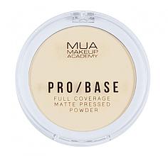 Parfémy, Parfumerie, kosmetika Kompaktní pudr na obličej matující - MUA Pro-Base Full Coverage Matte Pressed Powder