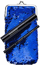 Parfémy, Parfumerie, kosmetika Sada - NoUBA Eye'M Mascarone Triple Volume Mascara (mascara/6.5g + eye/pen/1.1g + bag)