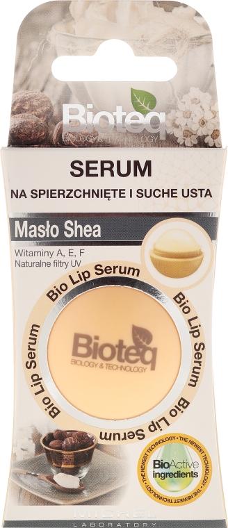 Balzám pro suché a popraskané rty - Bioteq Bio Lip Serum Shea Butter