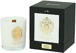 Parfémy, Parfumerie, kosmetika Tiziana Terenzi Arethusa Scented Candle White Glass - Parfémovaná svíčka