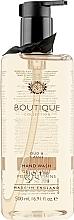 """Parfémy, Parfumerie, kosmetika Tekuté mýdlo na ruce """"Černý rybíz"""" - Grace Cole Boutique Oud & Cassis Hand Wash"""