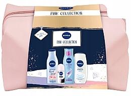Parfémy, Parfumerie, kosmetika Sada - Nivea XMax Pink Collection 2020 (b/lot/200ml+shm/250ml+sh/gel/500ml+deo/50ml+bag)