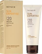 Parfémy, Parfumerie, kosmetika Ochranný krém kontrola opalování SPF20 - Skeyndor Sun Expertise Tanning Control Cream SPF20