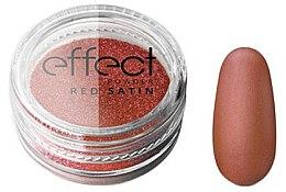 Parfémy, Parfumerie, kosmetika Pudr na nehty - Silcare Red Satine Effect Powder