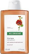 Parfémy, Parfumerie, kosmetika Šampon proti suchým lupům s extraktem z Lichořeřišnice - Klorane Shampoo With Nasturtium Extract