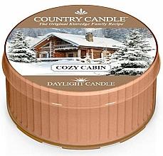 Parfémy, Parfumerie, kosmetika Čajová svíčka Útulný domov - Country Candle Cozy Cabin Daylight